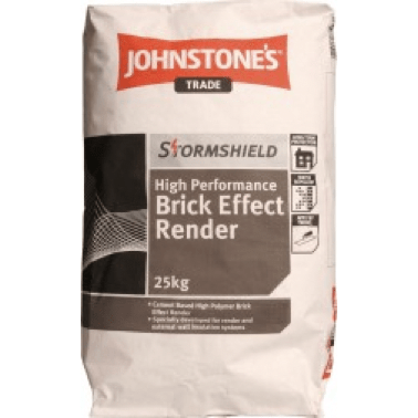 Johnstones Brick Effect Render - Buy Paint Online