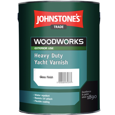 Johnstones Heavy Duty Yacht Varnish - Buy Paint Online