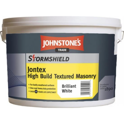Johnstones Jontex High Build Textured Masonry - Buy Paint Online