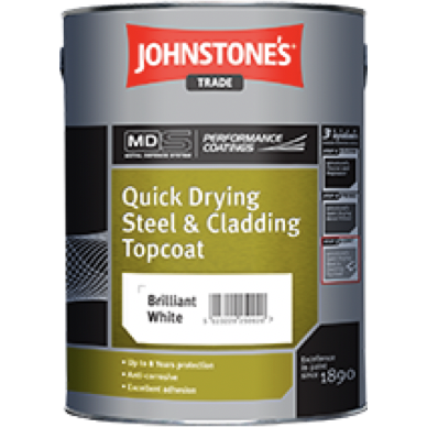 Johnstones Quick Drying Steel & Cladding - Buy Paint Online