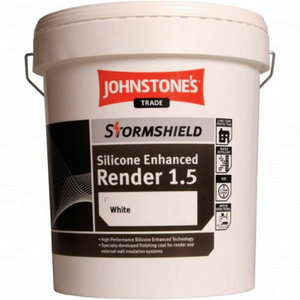 Johnstones Silicone Enhanced Render - Buy Paint Online