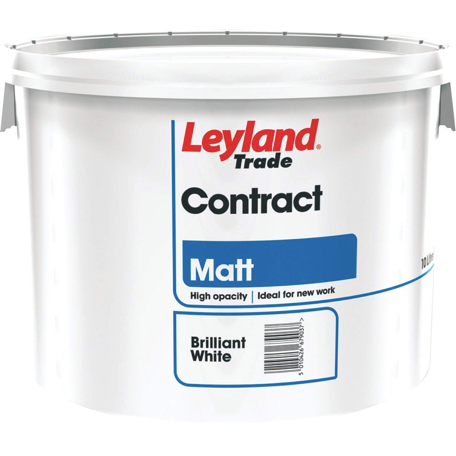 Leyland Contract Matt Emulsion Paint - Buy Paint Online