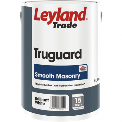 Leyland Truguard Smooth Masonry - Buy Paint Online