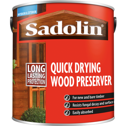 Sadolin Quick Dry Wood Preserver - Buy Paint Online