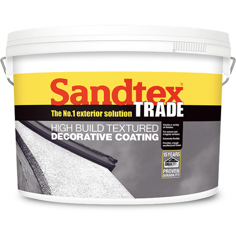 Sandtex High Build Textured Decorative Coating - Buy Paint Online