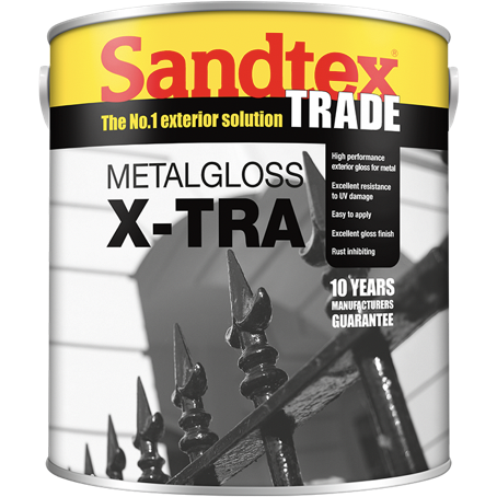 Sandtex Metal Gloss X-tra Paint - Buy Paint Online