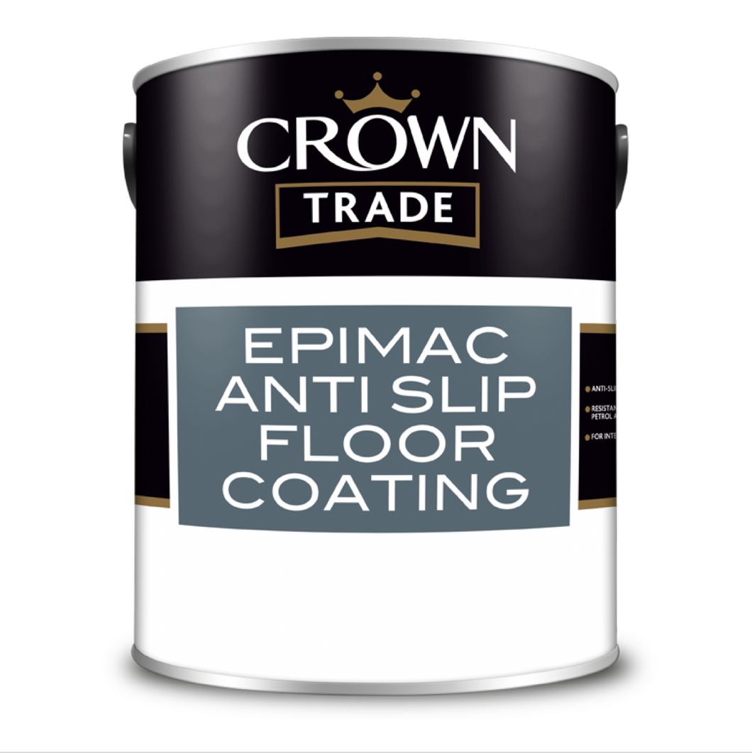 Crown Trade Epimac Anti-Slip Floor Coating Paint - Buy Paint Online