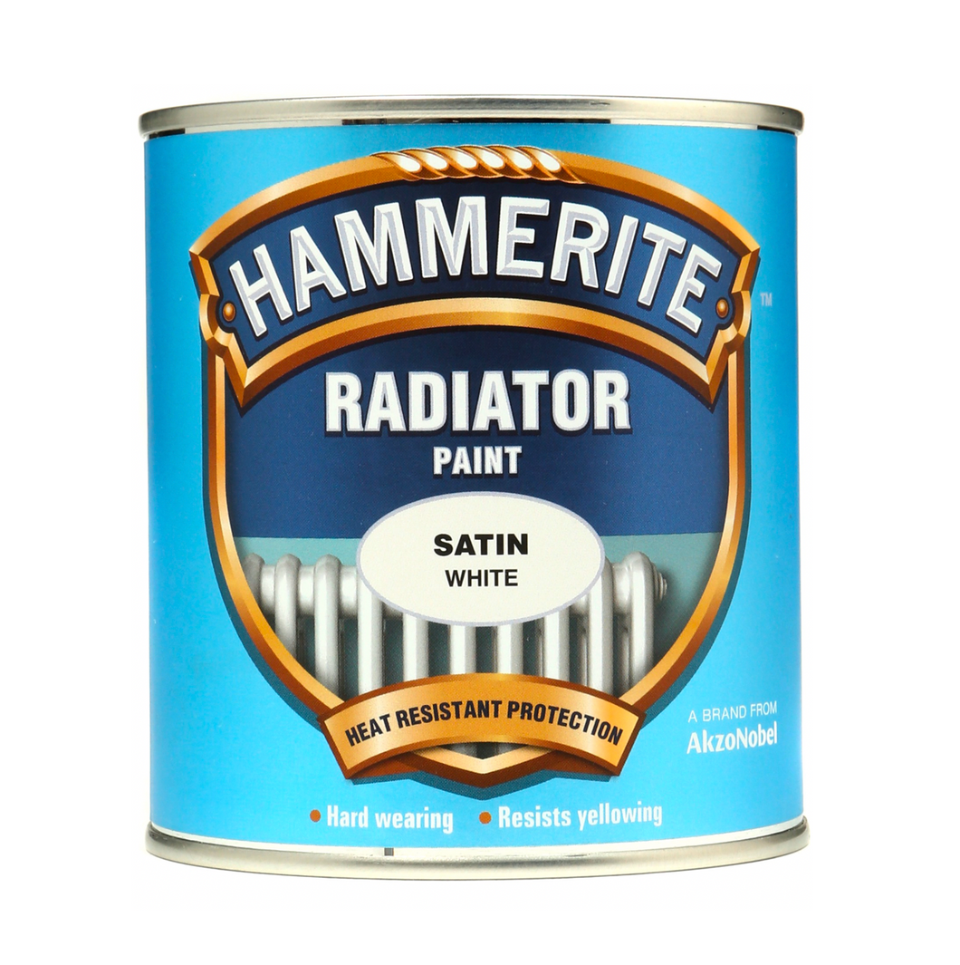 Hammerite Radiator Paint Satin - Buy Paint Online