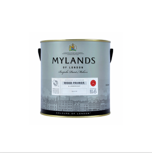 Mylands Wood Primer & Undercoat (White) - Buy Paint Online