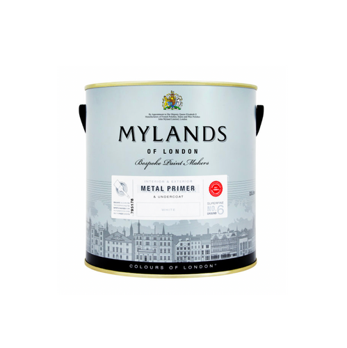 Mylands Metal Primer (White) - Buy Paint Online
