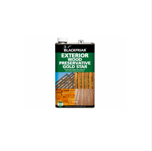 Blackfriar Exterior Wood Preservative Gold Star - Buy Paint Online