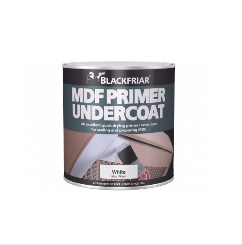 Blackfriar MDF Primer Undercoat - Buy Paint Online