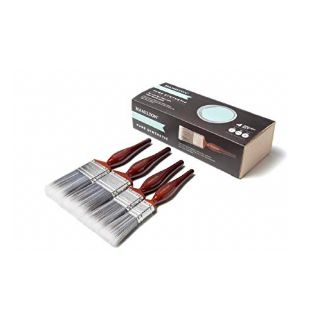 Hamilton Perfection Pure Synthetic Paint Brush 4 Box Set - Buy Paint Online
