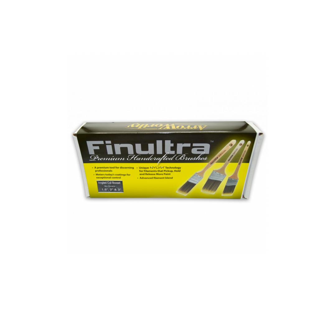 Finultra Angled Cut Brush Boxset | Buy Paint Supplies Online