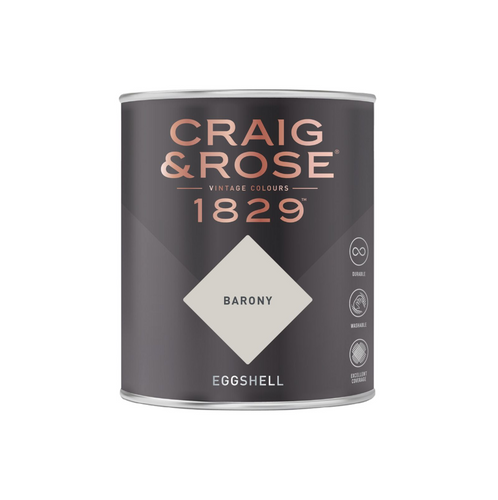 Craig & Rose 1829 Eggshell Paint (750ml) - Buy Paint Online