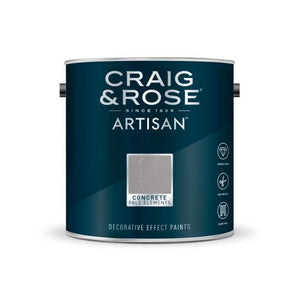 Craig & Rose Artisan Concrete Effect - Buy Paint Online