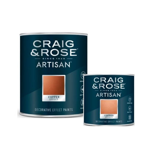 Craig & Rose Artisan Copper Effect Decorative Paint - Buy Paint Online