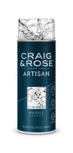 Craig & Rose Artisan Marble Effect Sprays - Buy Paint Online
