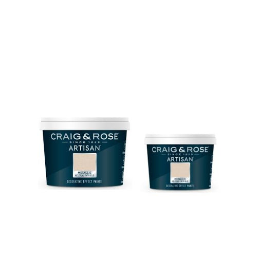 Craig & Rose Artisan Metallic Effects Decorative Paint - Buy Paint Online