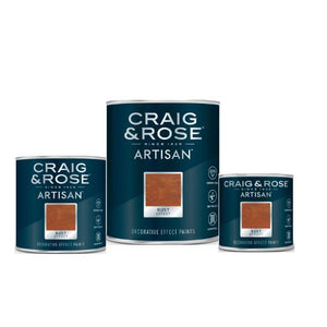 Craig & Rose Artisan Rust Effect Decorative Paint - Buy Paint Online