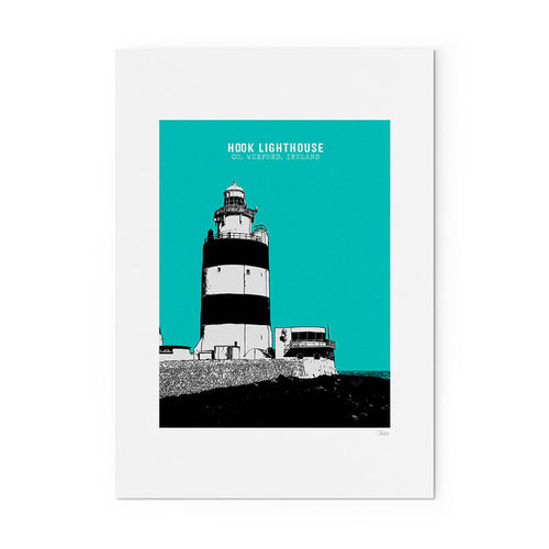 HOOK HEAD LIGHTHOUSE PRINT