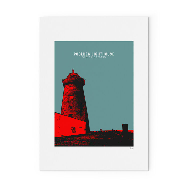 POOLBEG LIGHTHOUSE PRINT