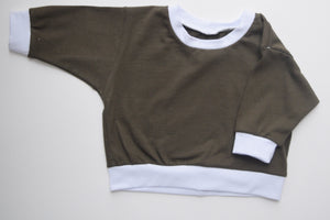Olive Lounge Top