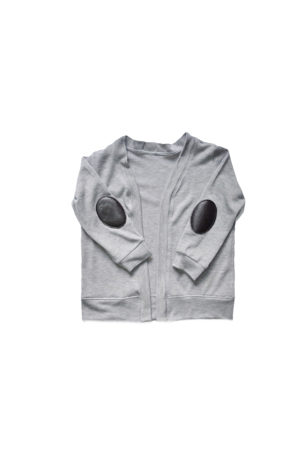 Open Front Cardigan - Gray