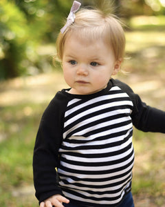 Stripe Raglan T Shirt
