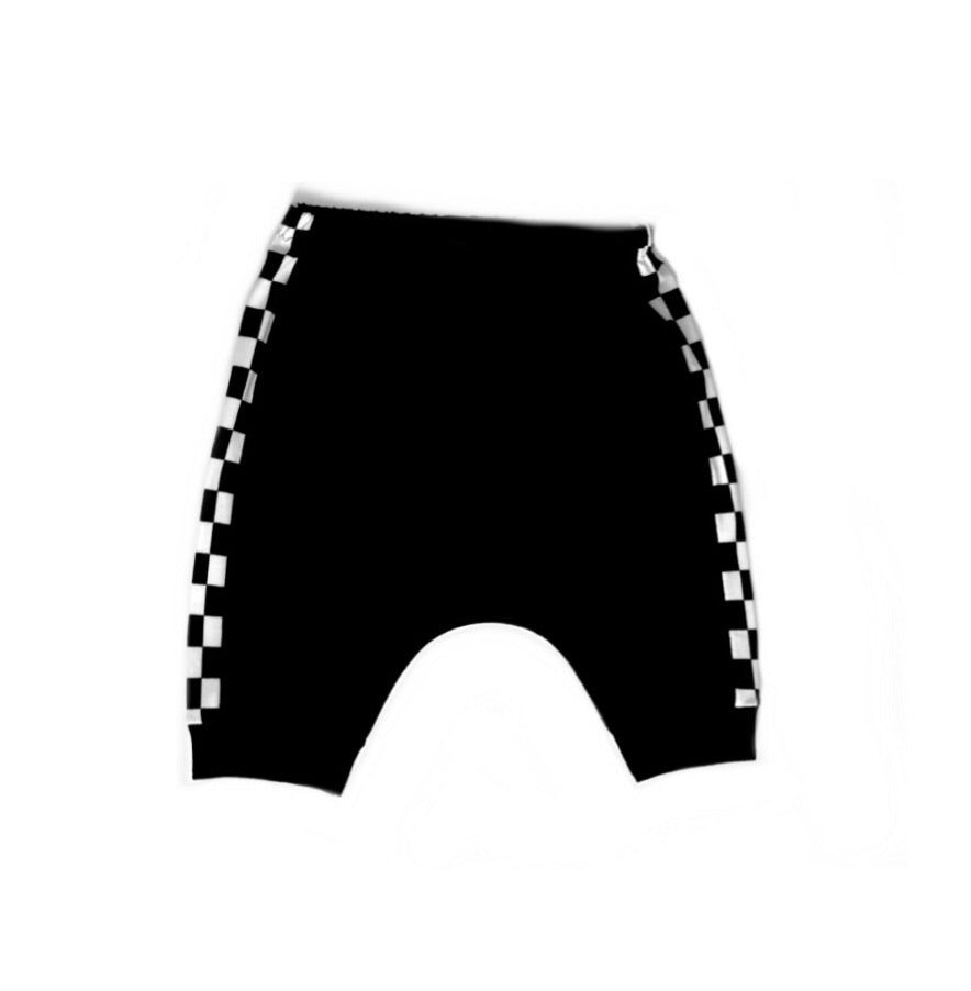 Monochrome Checkered Shorts