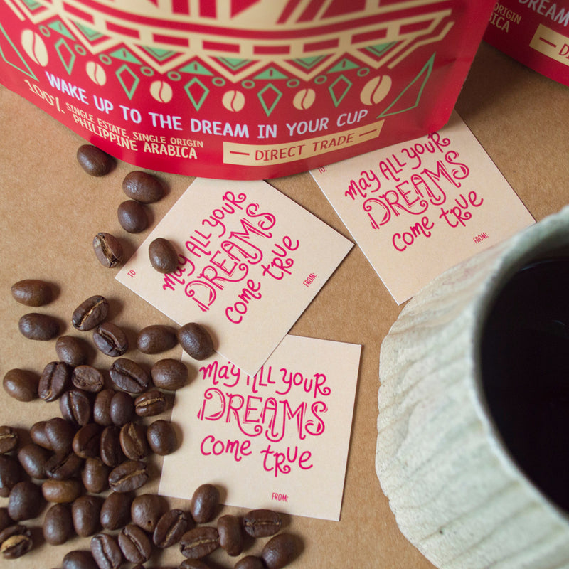 Gift-Ready Coffee with Tag (200g)