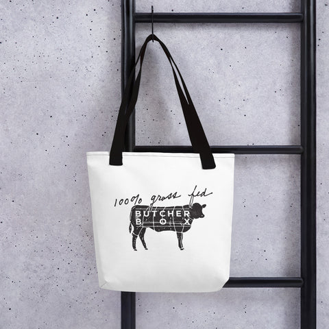 100% Grass fed Tote bag