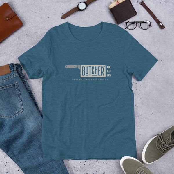 ButcherBox Boston Mass. Short-Sleeve Unisex T-Shirt