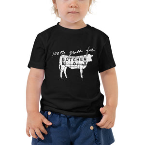 100% Grass Fed - Toddler Short Sleeve Tee