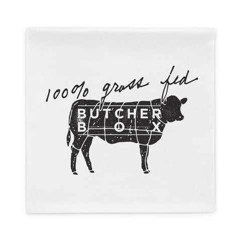100% grass-fed Pillow Case