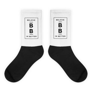 Believe in Better Socks