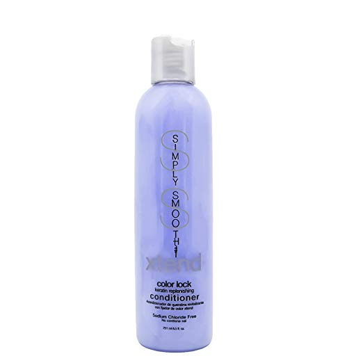 Simply Smooth Xtend Color Lock Keratin Replenish Conditioner, 8.5 oz