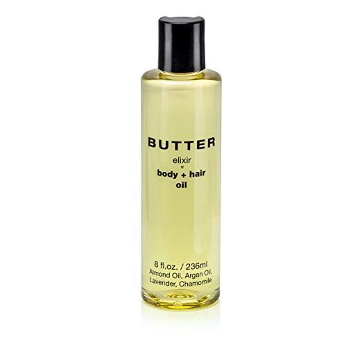 BUTTER Elixir All Natural Body + Hair Oil - 8 oz.