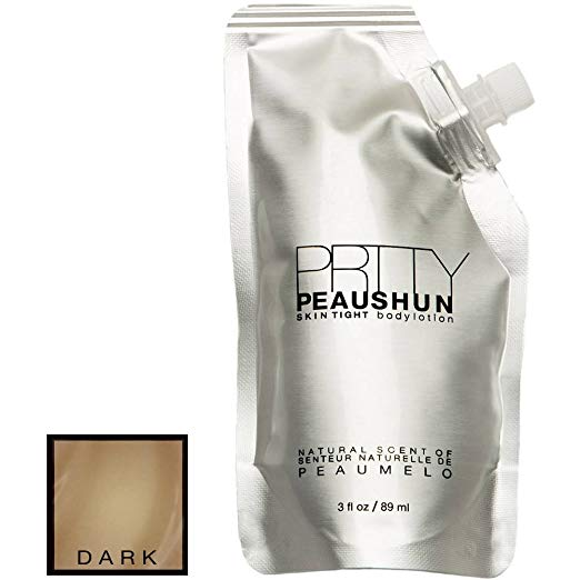 Prtty Peaushun Skin Tight Body Lotion - Travel Size (Dark)