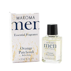 Men Orange Patchouli Fragrance Maroma 10 Ml Liquid