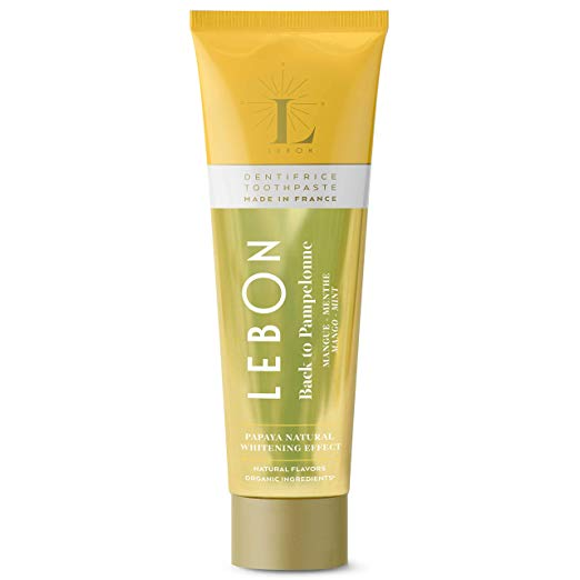 Lebon Back to Pampelonne Organic Toothpaste