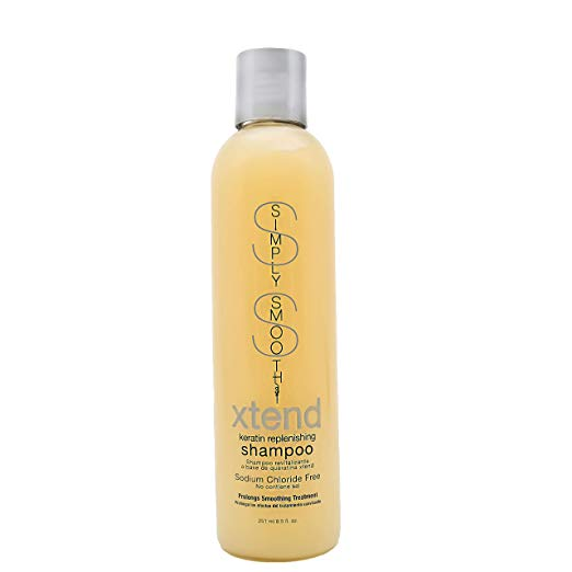 Simply Smooth Xtend Keratin Replenishing Shampoo, 8.5 Ounce