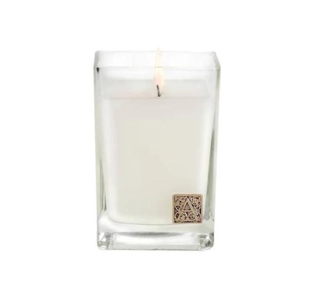 Aromatique Cube Glass Spring Scented Jar Candle