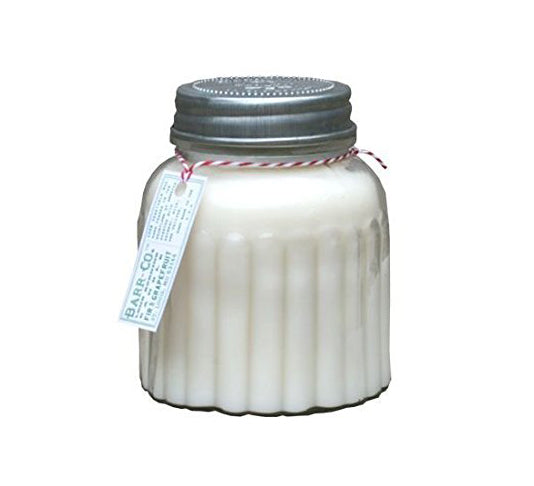 Barr Co Fir & Grapefruit - Apothecary Jar Candle