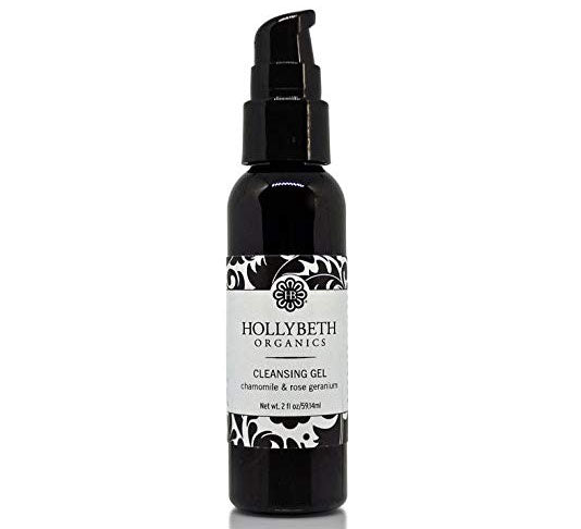 Hollybeth Organics Cleansing Gel with Chamomile & Rose Geranium