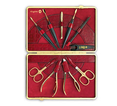 Niegeloh 24K Gold-plated Womens Manicure Set