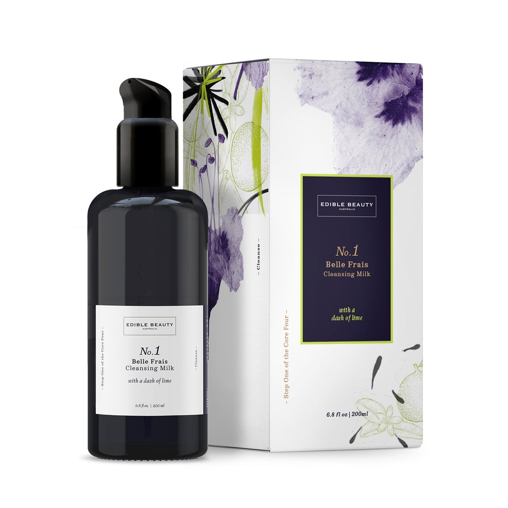 Edible Beauty Australia No. 1 Belle Frais Cleansing Milk