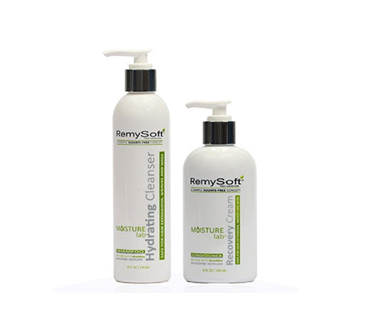 RemySoft Moisturelab Hydrating Cleanser & Recovery Cream Duo