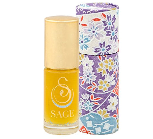 Sage Roll-on Perfume Oil - Moonstone