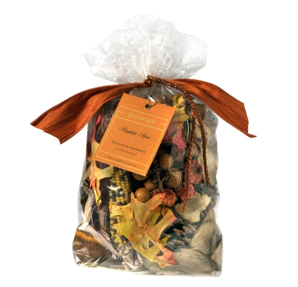 Aromatique Decorative Potpourri - Pumpkin Spice (8oz Bag)
